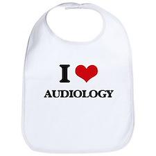 I Love Audiology Bib