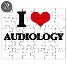 I Love Audiology Puzzle