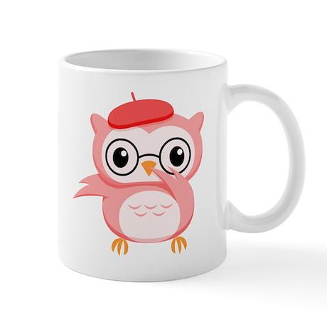 Le Pink Owl Mug