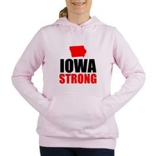 Iowa Strong Women's Hooded Sweatshirt