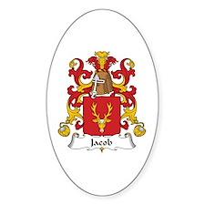 Jacob Oval Decal