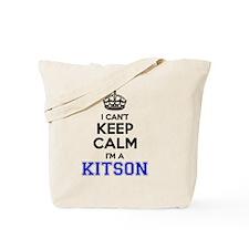 Funny Kitson Tote Bag