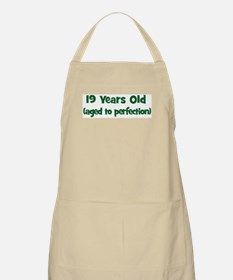 19 Years Old (perfection) BBQ Apron