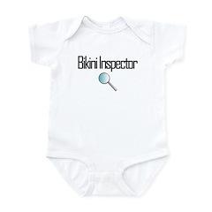 Bikini Inspector Infant Bodysuit