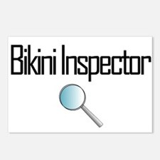 Bikini Inspector Postcards (Package of 8)
