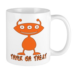 Trick Or Treat Alien Mug