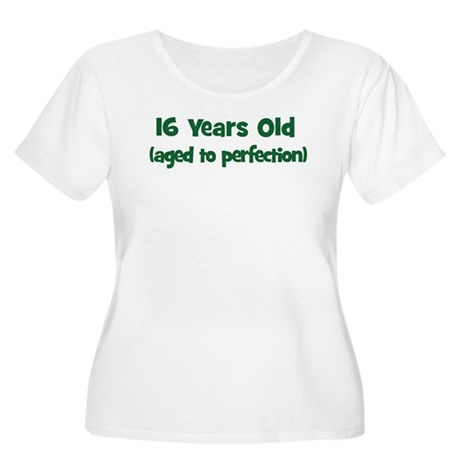 16 Years Old (perfection) Women's Plus Size Scoop