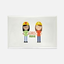 Girls Rule Magnets