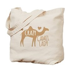 Crazy Camel Lady Tote Bag