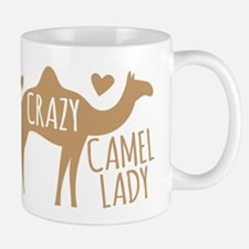 Crazy Camel Lady Mugs