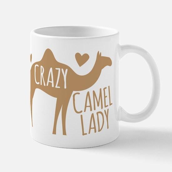 Crazy Camel Lady Mugs