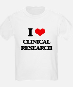 I Love Clinical Research T-Shirt