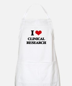 I Love Clinical Research Apron