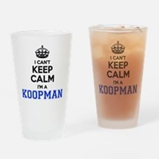 Unique Koopman Drinking Glass
