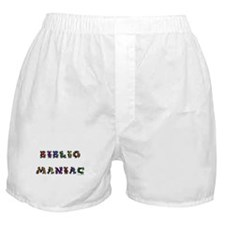 Bibliomaniac<br> Boxer Shorts