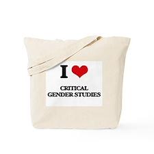 I Love Critical Gender Studies Tote Bag