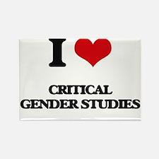 I Love Critical Gender Studies Magnets