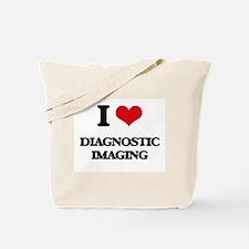 I Love Diagnostic Imaging Tote Bag
