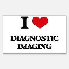 I Love Diagnostic Imaging Decal