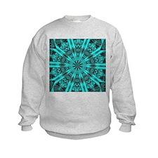 Torquise Crystal Wheel Sweatshirt