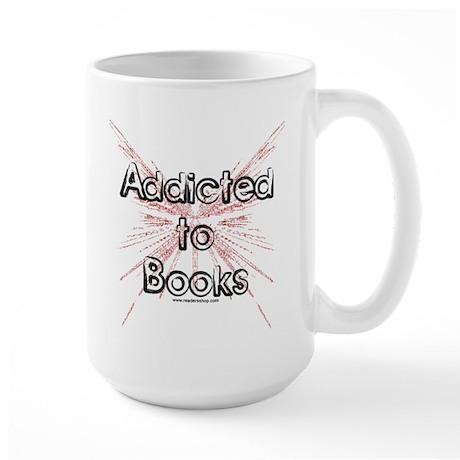 Addicted to Books! 2 Large Mug