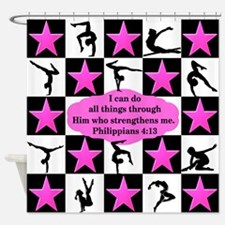 GYMNASTICS QUEEN Shower Curtain