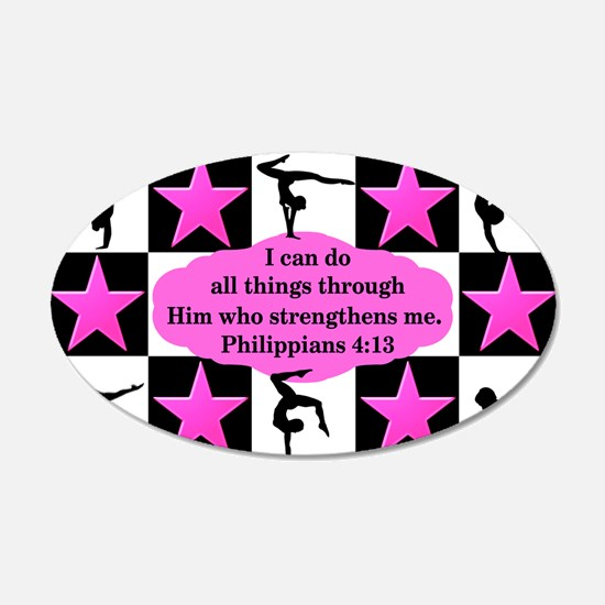 GYMNASTICS QUEEN Wall Decal