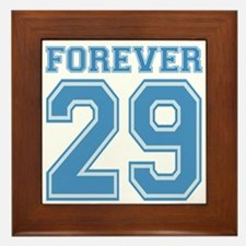Forever 29 Framed Tile