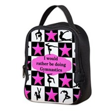 GYMNASTICS QUEEN Neoprene Lunch Bag