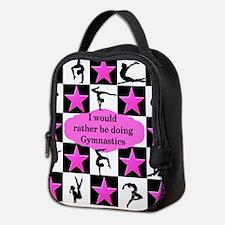 GYMNASTICS QUEEN Neoprene Lunch Bag