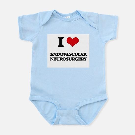 I Love Endovascular Neurosurgery Body Suit