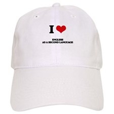 I Love English As A Second Language Hat