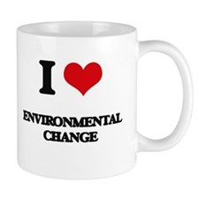 I Love Environmental Change Mugs