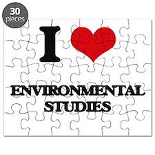 I Love Environmental Studies Puzzle