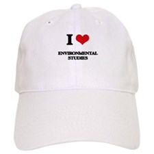 I Love Environmental Studies Baseball Cap