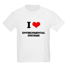 I Love Environmental Systems T-Shirt