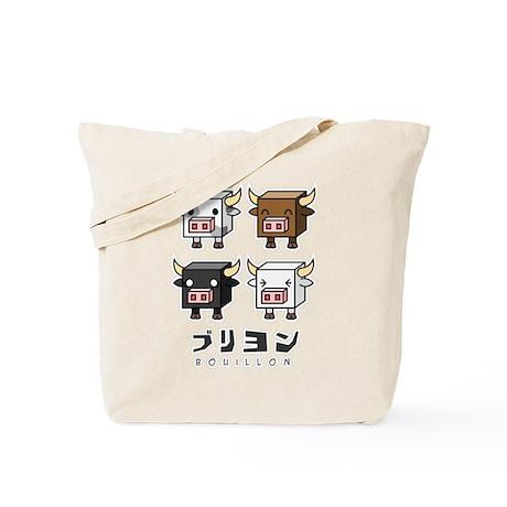 Bouillon Cow Cubes Tote Bag