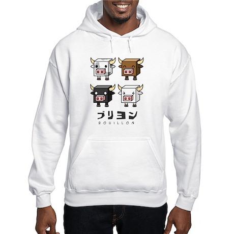Bouillon Cow Cubes Hooded Sweatshirt