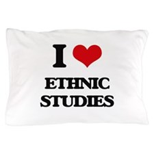 I Love Ethnic Studies Pillow Case
