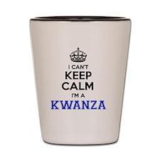 Cute Kwanza Shot Glass