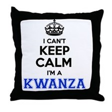 Funny Kwanza Throw Pillow