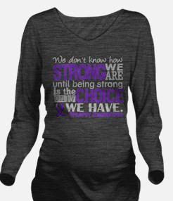 Epilepsy HowStrongWe Long Sleeve Maternity T-Shirt