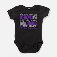 Epilepsy HowStrongWeAre Baby Bodysuit