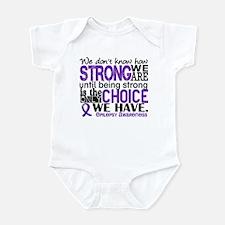 Epilepsy HowStrongWeAre Infant Bodysuit