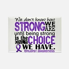 Epilepsy HowStrongWeAre Rectangle Magnet
