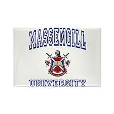 MASSENGILL University Rectangle Magnet