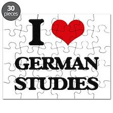 I Love German Studies Puzzle