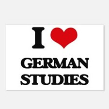 I Love German Studies Postcards (Package of 8)