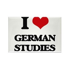 I Love German Studies Magnets