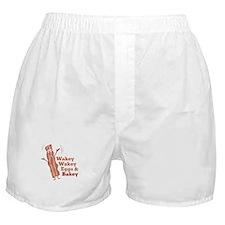 Bacon_Wakey_Wakey_Eggs_&_Bakey Boxer Shorts